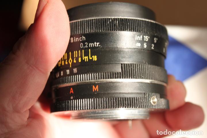 Cámara de fotos: Angular REVUENON MACRO, (rosca 42mm) 28mm F:3,5 + tapa - Foto 3 - 190872133