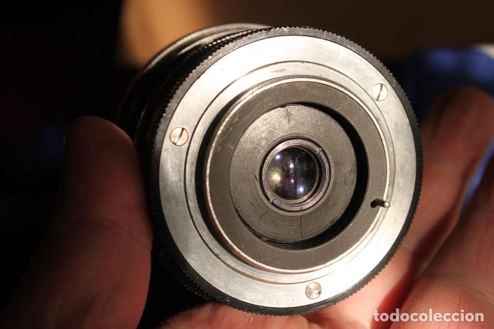 Cámara de fotos: Angular REVUENON MACRO, (rosca 42mm) 28mm F:3,5 + tapa - Foto 4 - 190872133