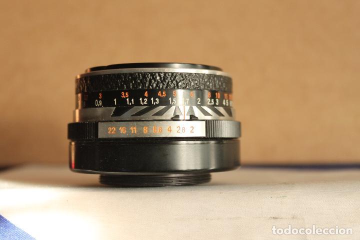 Cámara de fotos: Objetivo Pancolar 50mm F:2 (rosca 42mm) - Foto 2 - 190872326