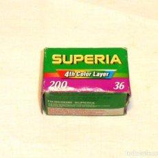 Fotocamere: CARRETE FUJICOLOR SUPERIA 200 - 36 FOTOS.PRECINTADO.. Lote 191316816