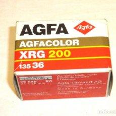 Fotocamere: CARRETE AGFA - AGFACOLOR XRG 200 - 135-36 .PRECINTADO.. Lote 191317255