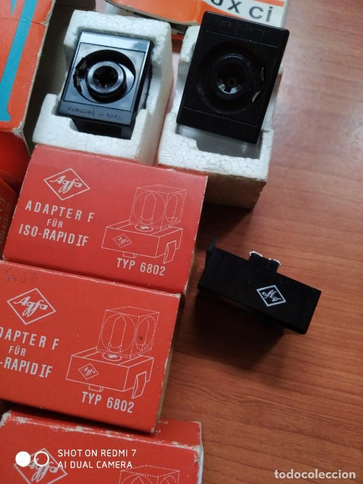 Cámara de fotos: Flash Agfa lux CI y adaptadores para ISO rápid IF - Foto 4 - 191954970