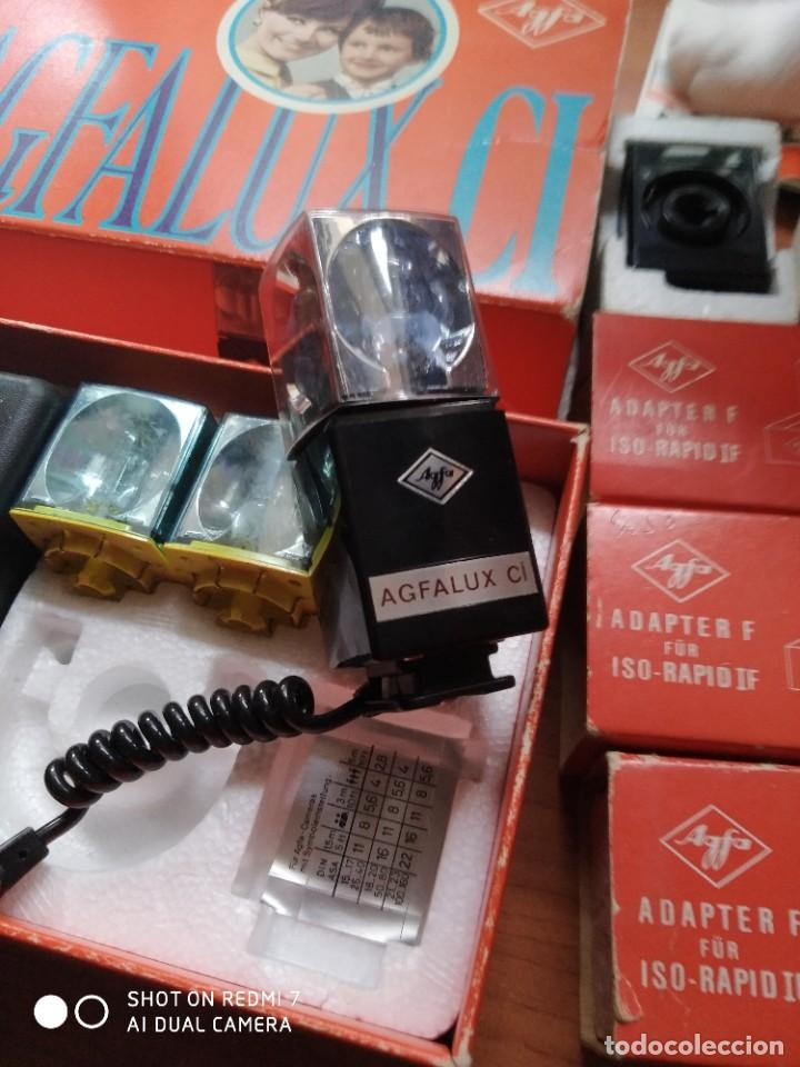 Cámara de fotos: Flash Agfa lux CI y adaptadores para ISO rápid IF - Foto 5 - 191954970
