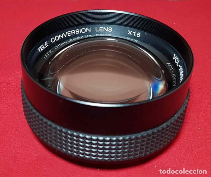 Cámara de fotos: OBJETIVO SONY VCL-1558-A, TELEOBJETIVO DE CONVERSION X 1.5, rosca de 52 mm - Foto 4 - 192169750