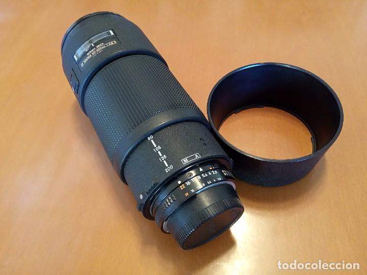 Cámara de fotos: OBJETIVO Nikon AF 80-200mm f/2.8 D ED - Foto 2 - 194080468