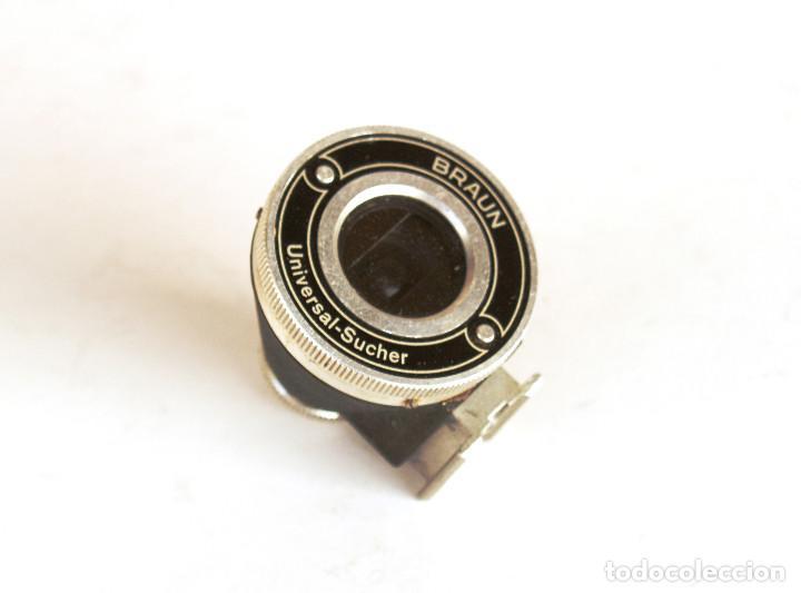 Cámara de fotos: Braun Universal Sucherfinder (Visor universal 35-50-85 y 135mm) para 35mm Leica, Fed, Contax... - Foto 3 - 194169092