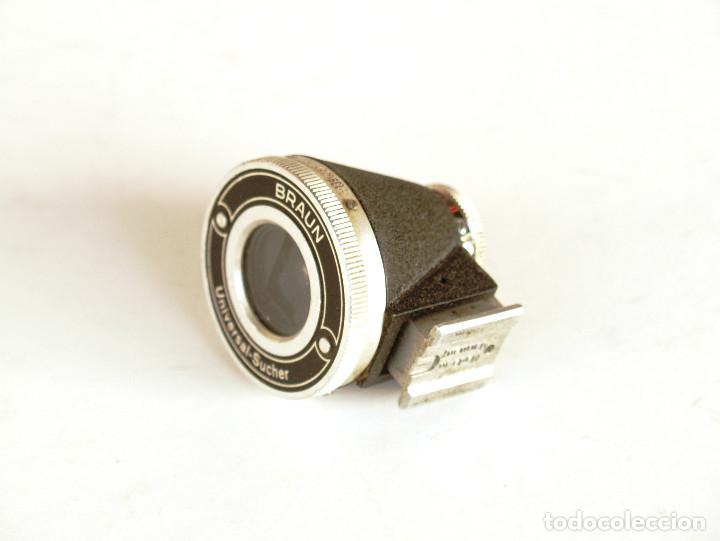 Cámara de fotos: Braun Universal Sucherfinder (Visor universal 35-50-85 y 135mm) para 35mm Leica, Fed, Contax... - Foto 7 - 194169092