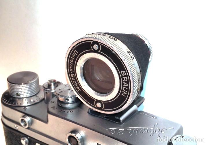 Cámara de fotos: Braun Universal Sucherfinder (Visor universal 35-50-85 y 135mm) para 35mm Leica, Fed, Contax... - Foto 2 - 194169092