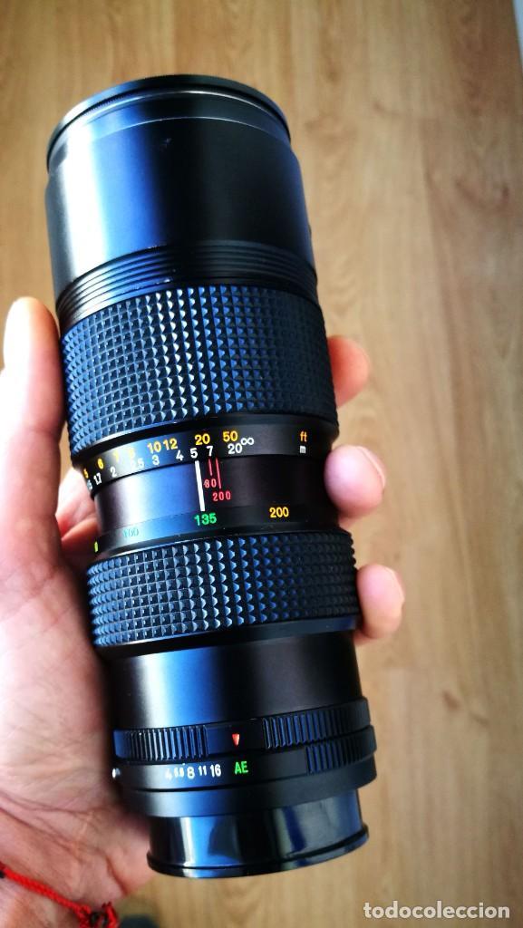 Cámara de fotos: Konica UC Zoom Hexanon AR 80-200mm f4 - Foto 2 - 194194982