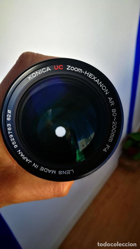 Cámara de fotos: Konica UC Zoom Hexanon AR 80-200mm f4 - Foto 7 - 194194982
