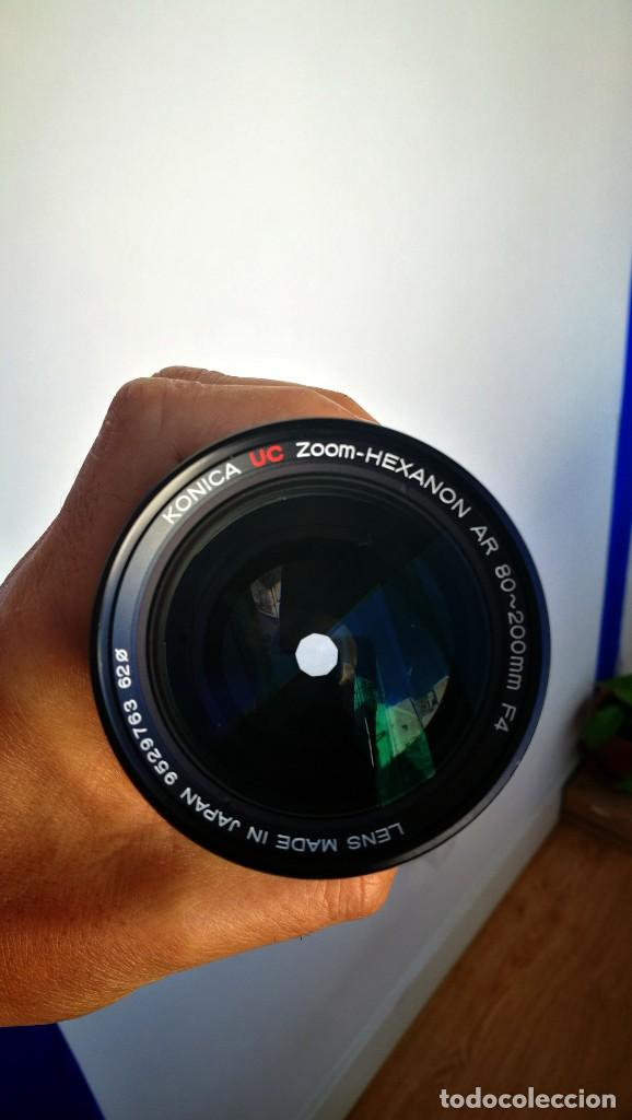 Cámara de fotos: Konica UC Zoom Hexanon AR 80-200mm f4 - Foto 8 - 194194982