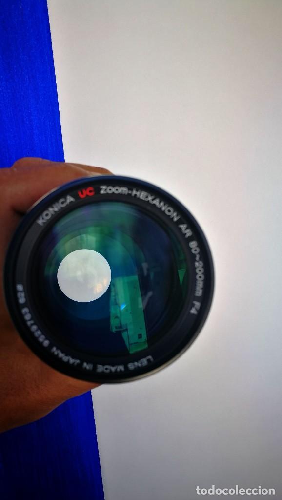 Cámara de fotos: Konica UC Zoom Hexanon AR 80-200mm f4 - Foto 9 - 194194982