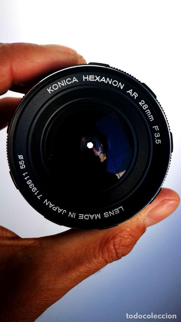 Cámara de fotos: Konica Hexanon 28mm 3.5 Version 7/7 - Foto 2 - 194196913
