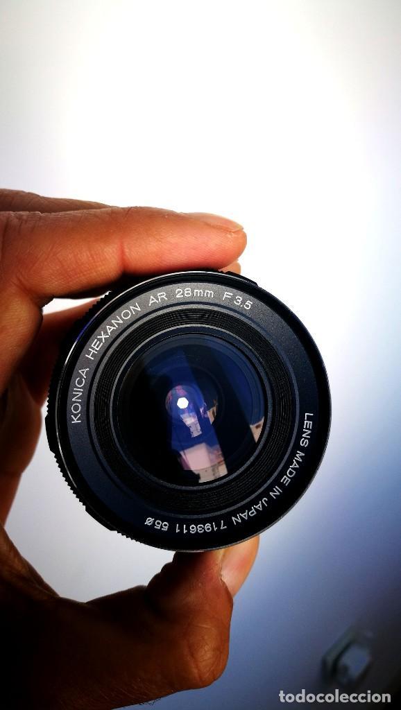 Cámara de fotos: Konica Hexanon 28mm 3.5 Version 7/7 - Foto 6 - 194196913