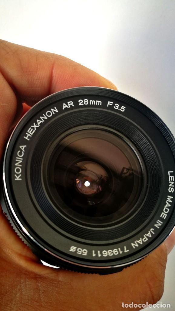 Cámara de fotos: Konica Hexanon 28mm 3.5 Version 7/7 - Foto 10 - 194196913