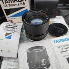 Cámara de fotos: OBJETIVO TAMRON 35-70 ( FOR CANON 1000 YSIMILARES). Lote 194368757