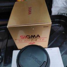 Cámara de fotos: OBJETIVO SIGMA 35-80 MACRO 52 MM FOR CANON 1000 Y SIMILARES. Lote 194369260