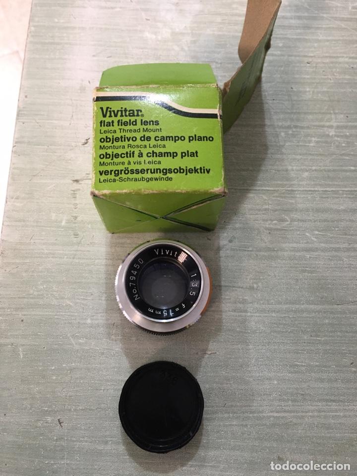Cámara de fotos: Vivitar flat fiel lens 75mm f3.5 - Foto 6 - 194578412