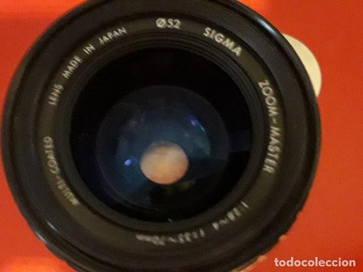 Cámara de fotos: OBJETIVO SIGMA Z00M - MASTER 1:2.8-4 f=35-70mm MULTI - COATED LENTE - Foto 2 - 194604835