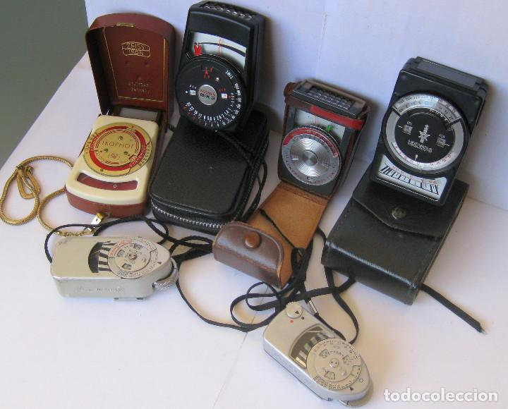 Cámara de fotos: Lote de 6 fotómetros. Leica, Zeiss, Gossen..... - Foto 8 - 194665590