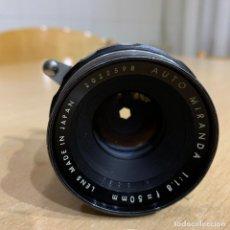 Cámara de fotos: AUTO MIRANDA 50MM 1.8. Lote 194752122