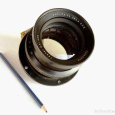 Cámara de fotos: *C1973* • ÓPTICA CARL ZEISS TESSAR F4.5 300 MM • CÁMARAS DE GRAN FORMATO 4X5, 5X7, .... Lote 195057956