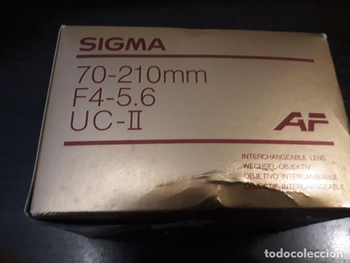Cámara de fotos: Objetivo Sigma 70-210 UC-II para nikon - Foto 6 - 195113907
