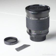 Cámara de fotos: OBJETIVO MINOLTA RF ROKKOR 250MM 5,6 CON FILTRO ND 4X. Lote 195276866