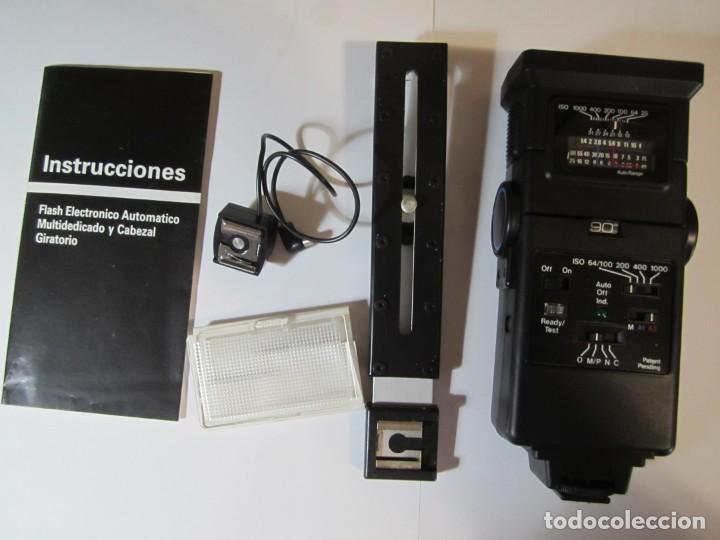 FLASH MAXWELL DA-5000S ZOOM NO PROBADO (Cámaras Fotográficas Antiguas - Objetivos y Complementos )