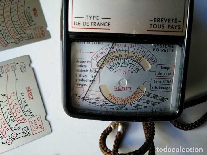 Cámara de fotos: FOTOMETRO REALT AÑOS 50 DE BAQUELITA MADE IN FRANCE CON FUNDA CUERO EXPOSIMETRO POSEMETRE POSOMETRE - Foto 8 - 195363620
