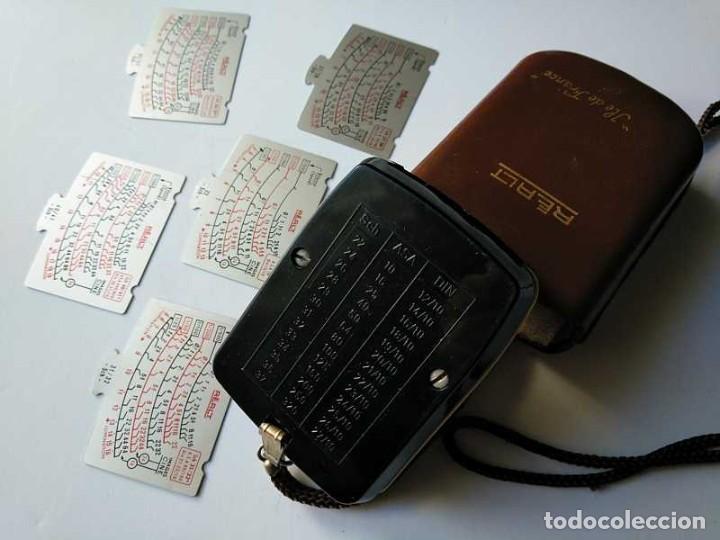Cámara de fotos: FOTOMETRO REALT AÑOS 50 DE BAQUELITA MADE IN FRANCE CON FUNDA CUERO EXPOSIMETRO POSEMETRE POSOMETRE - Foto 85 - 195363620