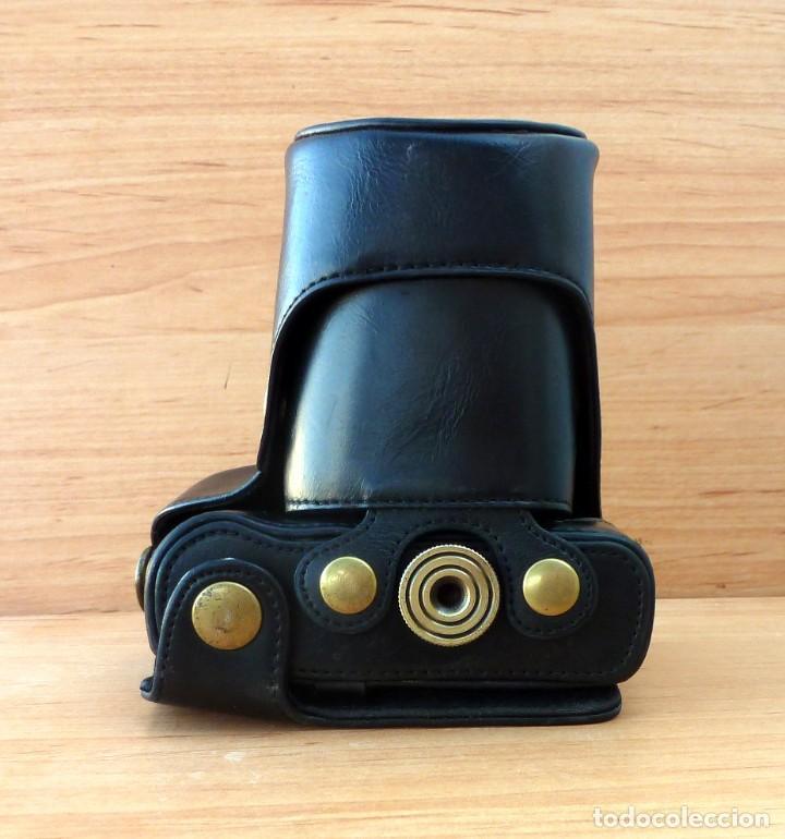 Cámara de fotos: Funda cuero para camara Panasonic Lumix DMC-GF5 con Objetivo 14-42mm (o similar) - Foto 2 - 195541893