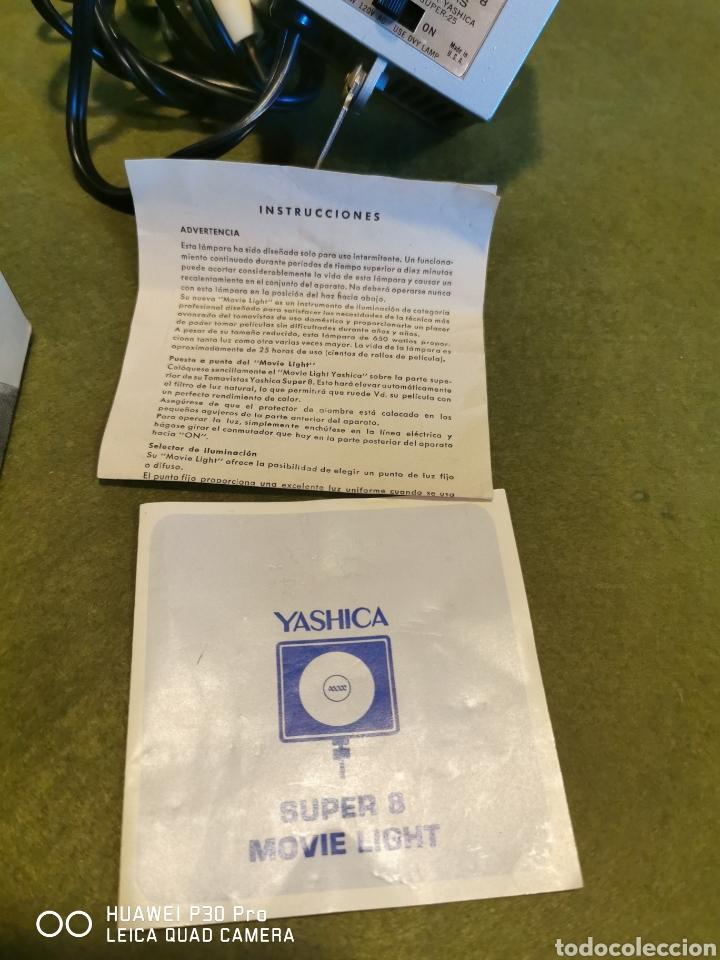 Cámara de fotos: Flash Super 8 movie light marca Yashica - Foto 6 - 196094360
