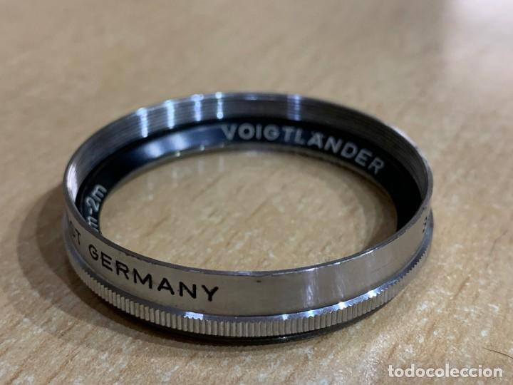 Filtro Voigtlander 40,5 mm portrat vorsatz 4m- 2m 347/41 segunda mano