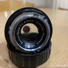 Cámara de fotos: OBJETIVO SCHNEIDER XENAR 50MM F:2,8. Lote 197523961