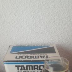 Cámara de fotos: OBJETIVO ADAPTADOR TAMRON 70-210 MM. Lote 198116468