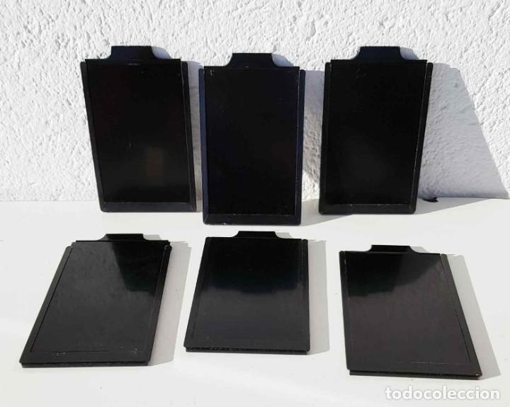 Cámara de fotos: 6 PORTAPLACAS para placas de cristal de 9 x 12 cm - Foto 2 - 198185245