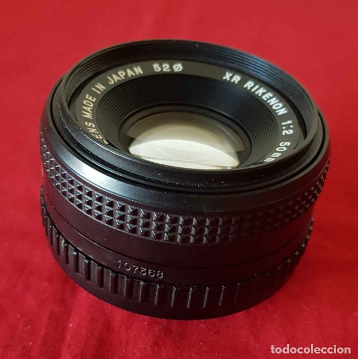 Cámara de fotos: OBJETIVO RIKENON XR 2 / 50 mm, bayoneta para Pentax, Ricoh, Cosina - Foto 3 - 198340515