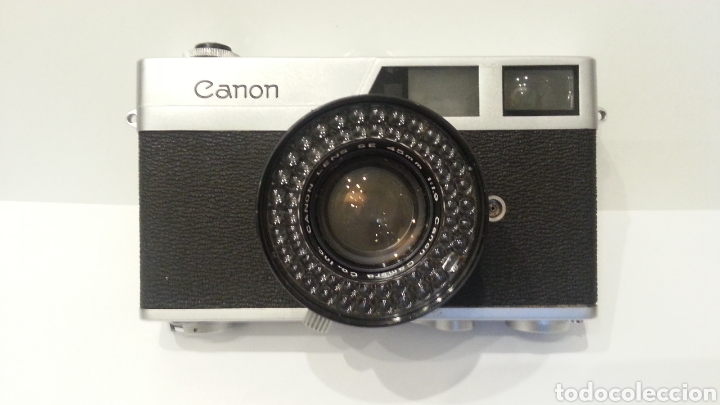 Cámara de fotos: CAMARA FOTOGRAFICA CANON CANONET 19, EL PRIMER MODELO, UN CLÁSICO MUY BUSCADO POR LOS COLECCIONISTAS - Foto 11 - 198461743