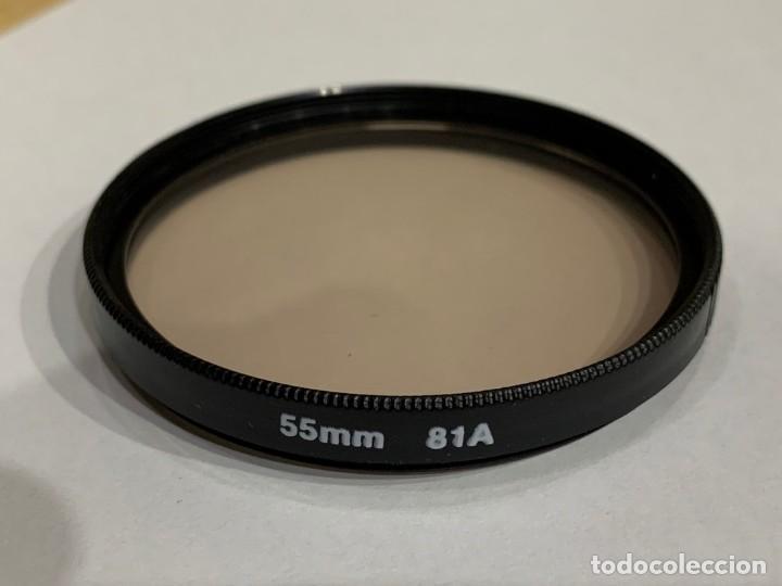 FILTRO 55MM 81A (Cámaras Fotográficas Antiguas - Objetivos y Complementos )