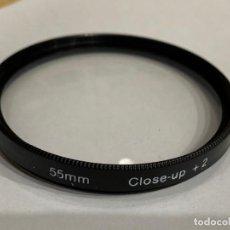 Cámara de fotos: FILTRO 55MM CLOSE-UP +2. Lote 198498327