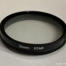Cámara de fotos: FILTRO 55MM STAR. Lote 198498340
