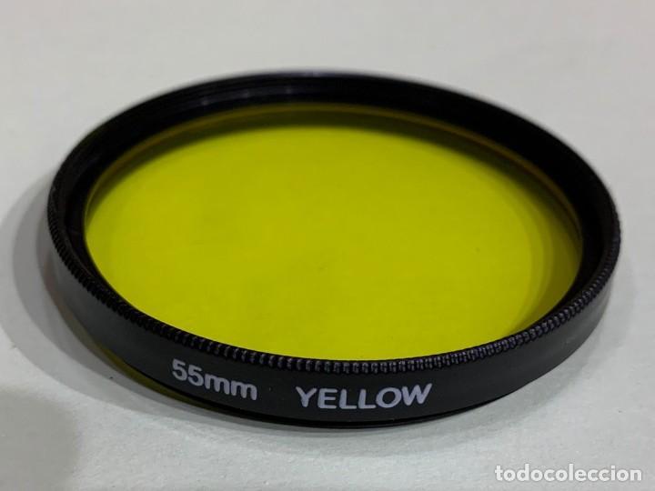 FILTRO 55MM YELLOW (Cámaras Fotográficas Antiguas - Objetivos y Complementos )