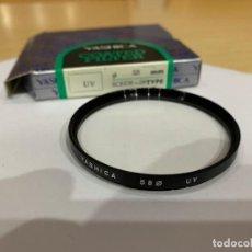 Cámara de fotos: YASHICA FILTRO 58MM SCREW-IN UV. Lote 198550082