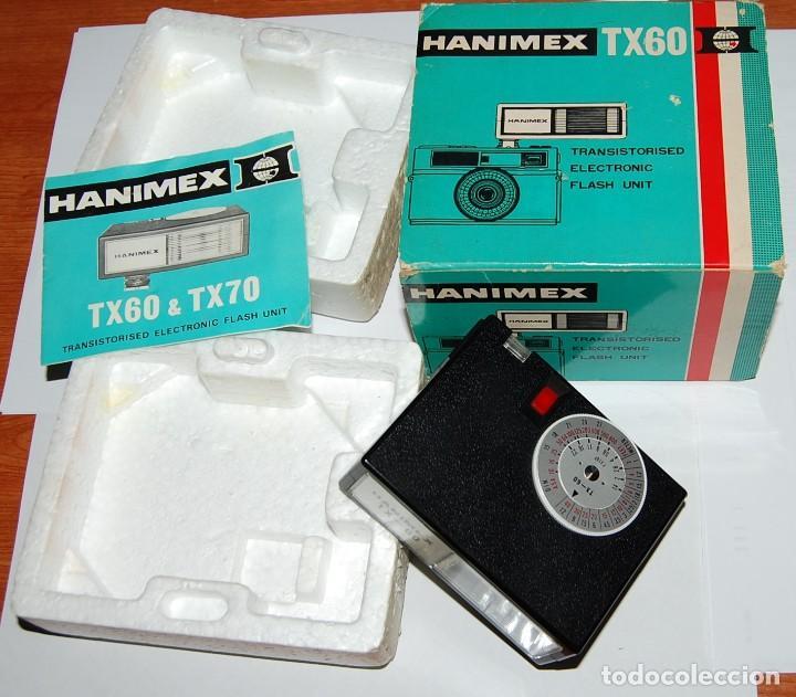 Cámara de fotos: FLASH ELECTRONICO HANIMEX TX60 CON CAJA Y LIBRO DE INSTRUCCIONES - Foto 3 - 198847521