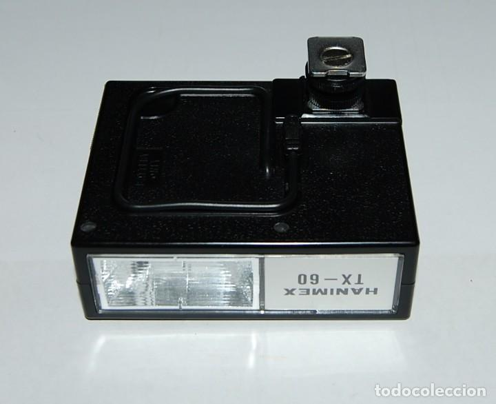 Cámara de fotos: FLASH ELECTRONICO HANIMEX TX60 CON CAJA Y LIBRO DE INSTRUCCIONES - Foto 4 - 198847521