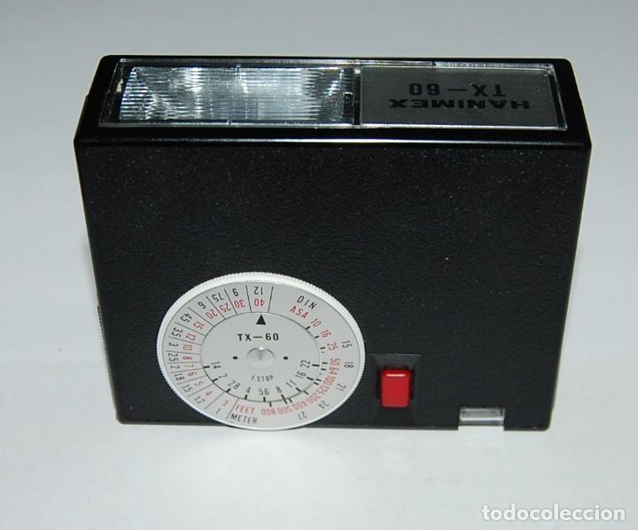 Cámara de fotos: FLASH ELECTRONICO HANIMEX TX60 CON CAJA Y LIBRO DE INSTRUCCIONES - Foto 5 - 198847521