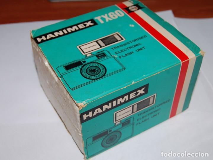 Cámara de fotos: FLASH ELECTRONICO HANIMEX TX60 CON CAJA Y LIBRO DE INSTRUCCIONES - Foto 6 - 198847521