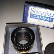 Cámara de fotos: OBJETIVO SCHNEIDER - KREUZNACH 10011912 COMPONAR 1:4,5 / 105 ESTUCHE ORIGINAL. Lote 199502725