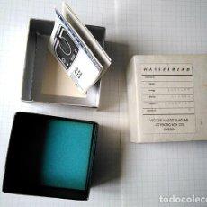 Cámara de fotos: HASSELBLAD BOX FILM MAGAZINE A12. EMPTY BOX. SOLO LA CAJA. Lote 200568732